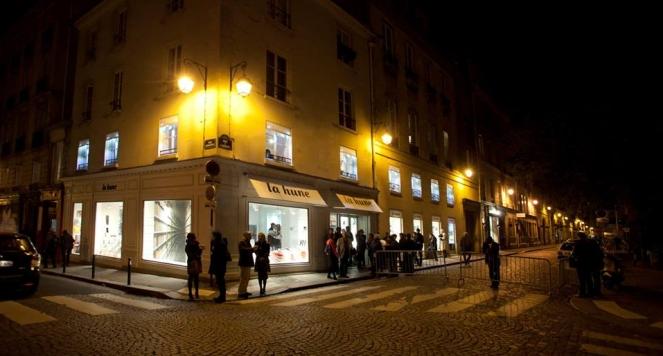 La Hune, 18 rue de l'Abbaye, Paris 6eme